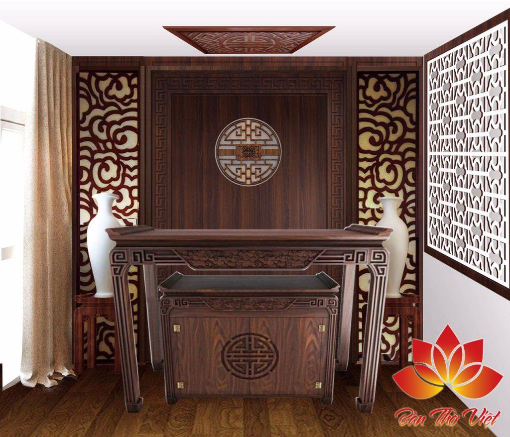 Tủ thờ giá bao nhiêu - Giá bán tủ thờ gỗ rẻ nhất năm 2018