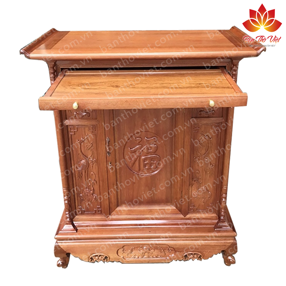 Địa chỉ bán tủ thờ gỗ hương uy tín chất lượng