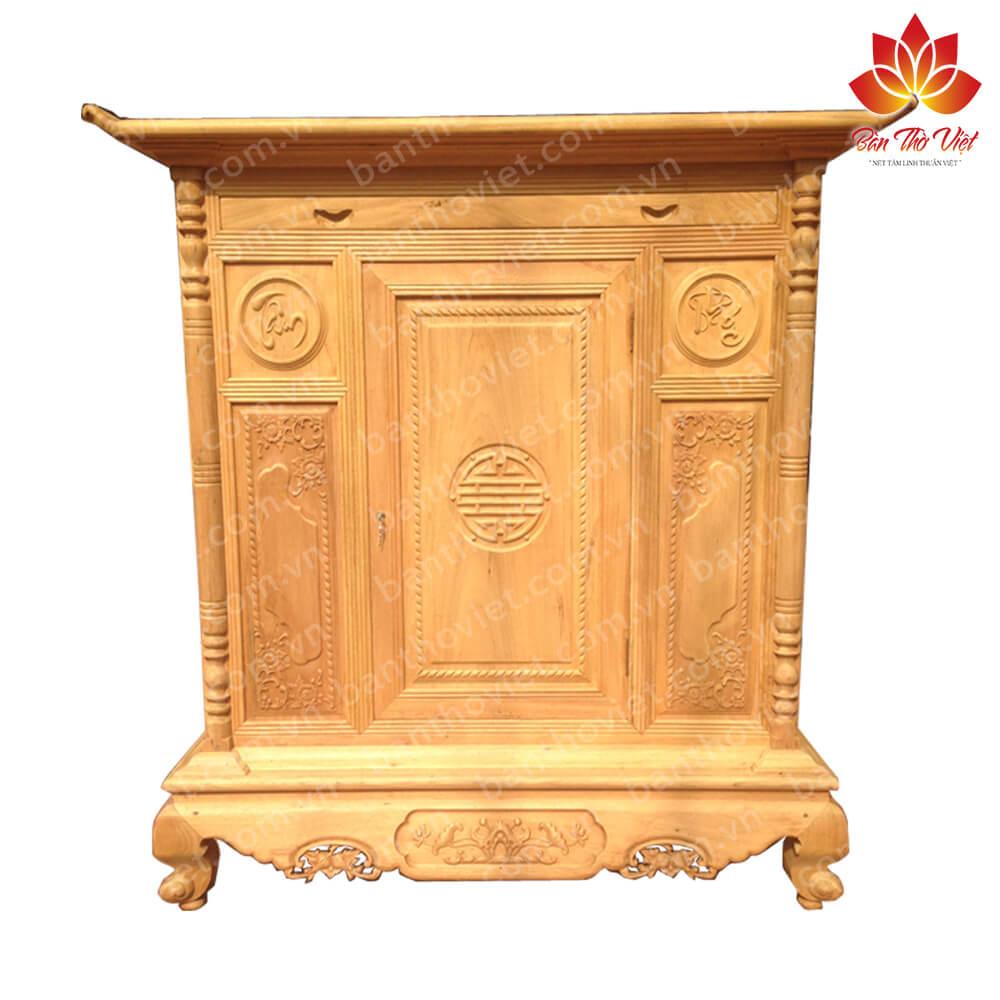 Tóp 7 mẫu tủ thờ gỗ quý Siêu Đẹp và Sang Trọng tại Hà Nội