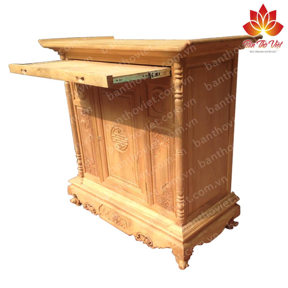 Một số mẫu tủ thờ gỗ dổi đẹp