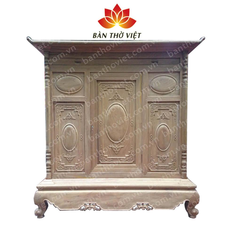 Một số mẫu tủ thờ cao cấp đẹp, giá rẻ tại Bàn Thờ Việt