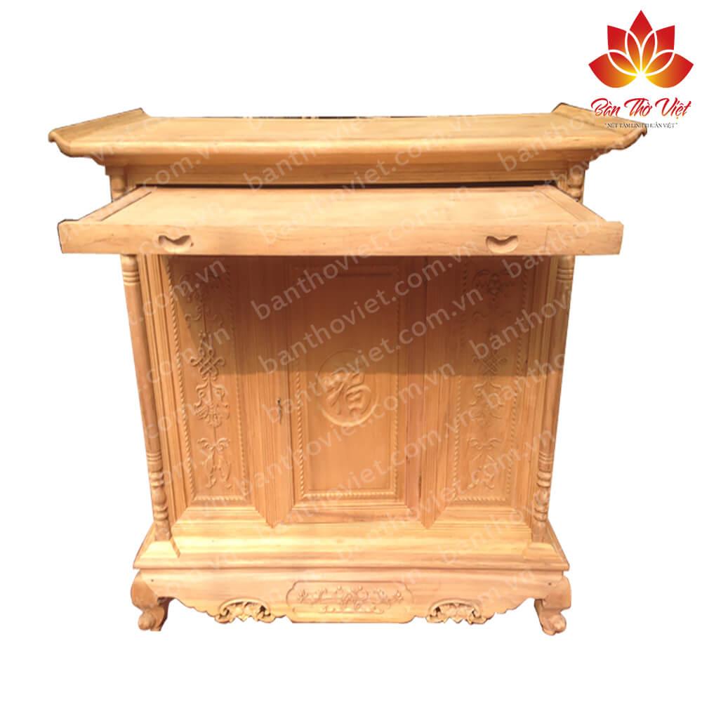 Tủ thờ nên làm bằng gỗ gì là tốt nhất?