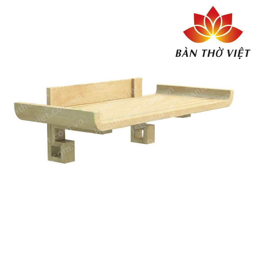 Ưu điểm của bàn thờ treo gỗ Pơ mu? Mua bàn thờ treo gỗ Pơ mu ở đâu?