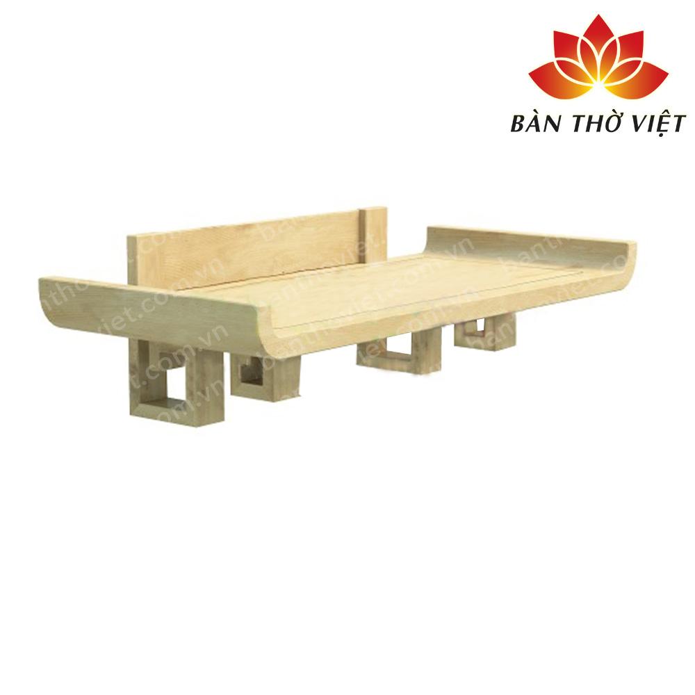 Mua bàn thờ treo tường gỗ sồi ở đâu?