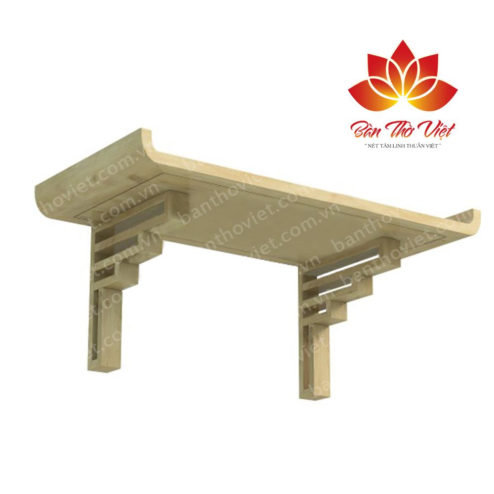 Một số mẫu bàn thờ treo gỗ mít siêu đẹp