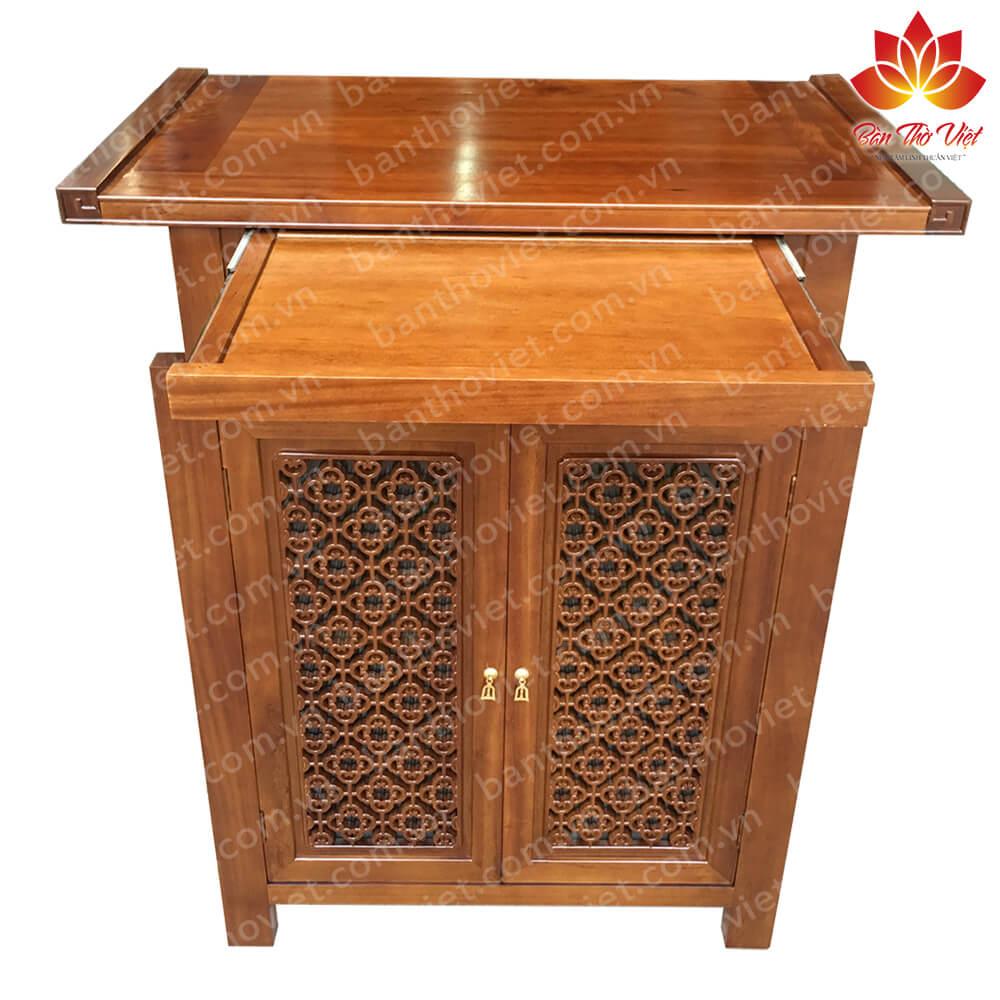 tủ thờ gỗ mít chất lượng, giá rẻ