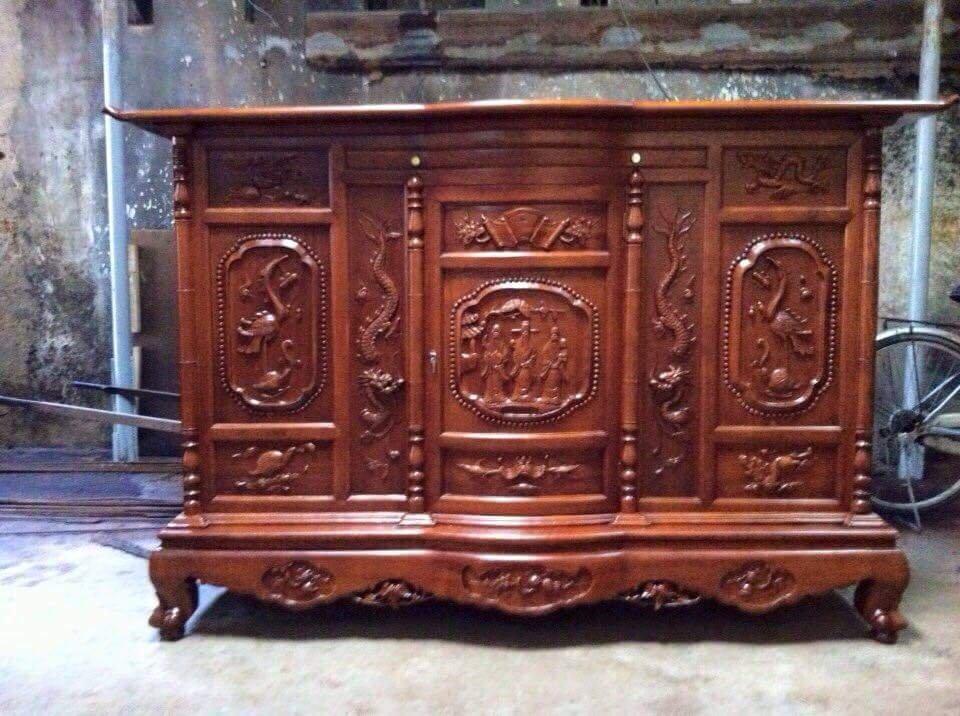 Lộ diện những mẫu tủ thờ Phúc Lộc Thọ tinh tế, hiện đại đẹp mê mẩn