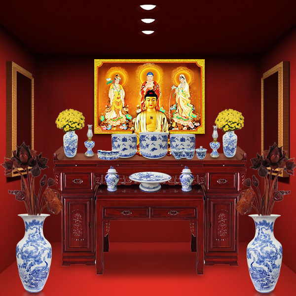 Những mẫu tủ thờ Phật Nhật Bản đẹp.