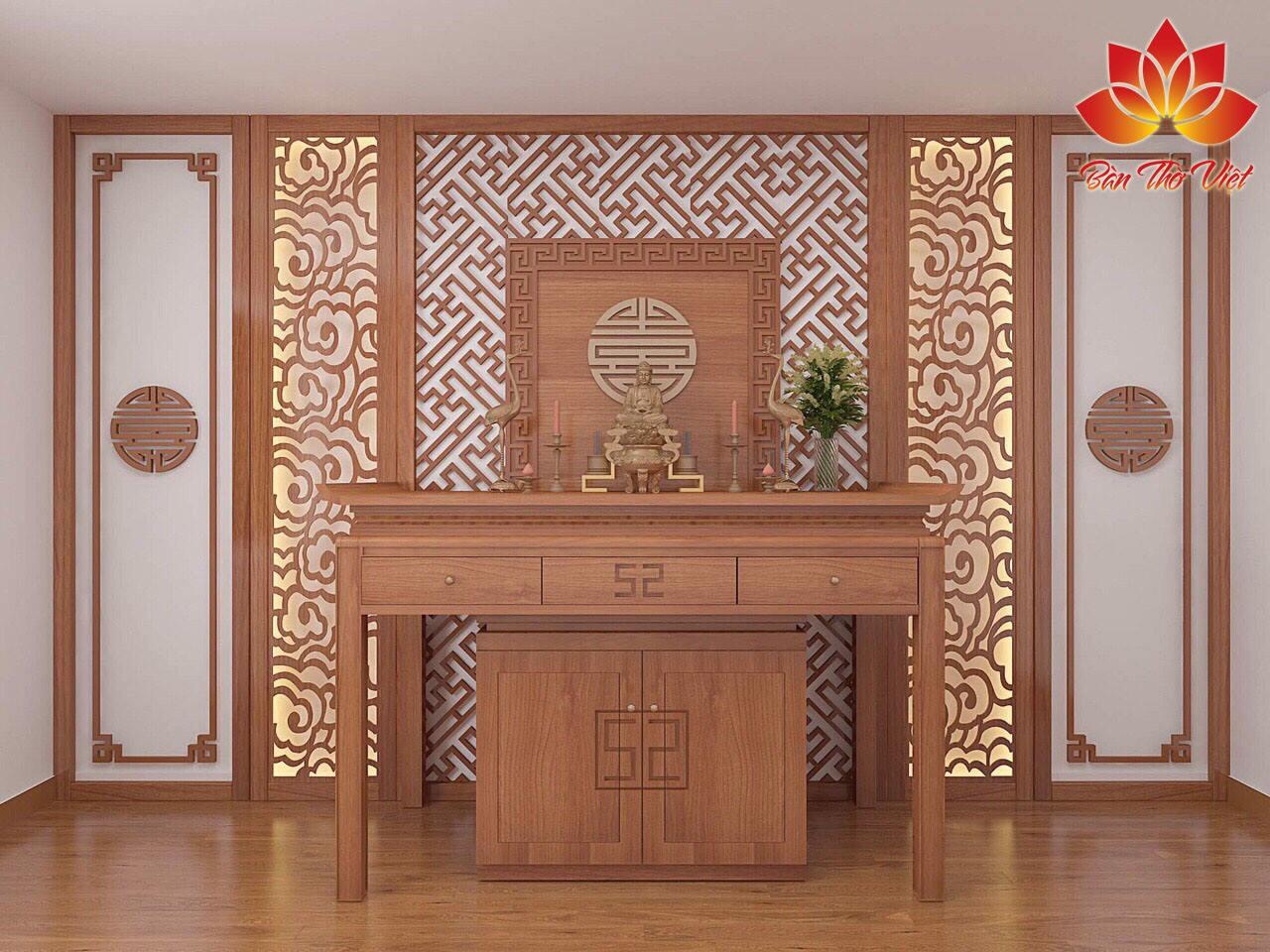 Tủ thờ ở phòng khách có nhiều ưu điểm khiến quý khách hàng không thể bỏ qua nếu có nhu cầu tìm hiểu về sản phẩm