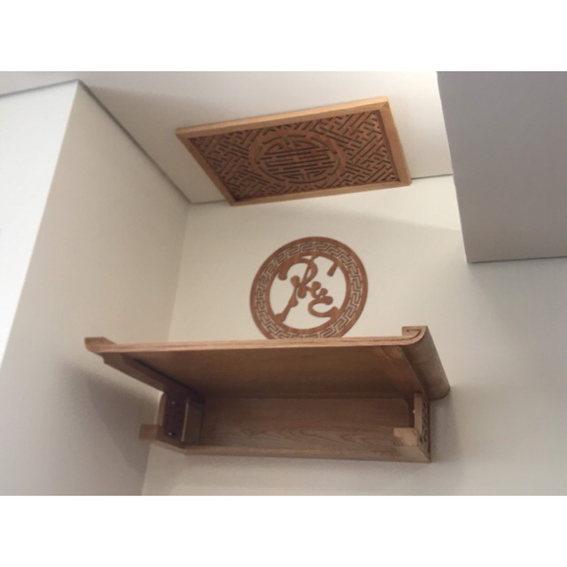 Những ưu điểm nổi bật của bàn thờ treo tường hiện đại