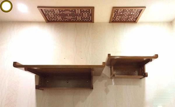 Tổng hợp những ưu điểm của bàn thờ treo 2 tầng khiến sản phẩm ngày càng được ưa chuộng sử dụng